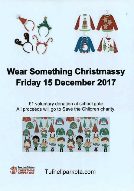 WEAR SOMETHING CHRISTMASSY — Tufnell Park Primary